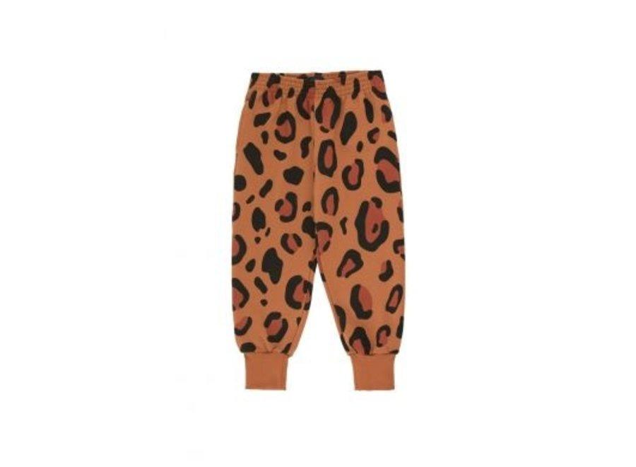 Animal Print Sweatpant Brown/Dark Brown
