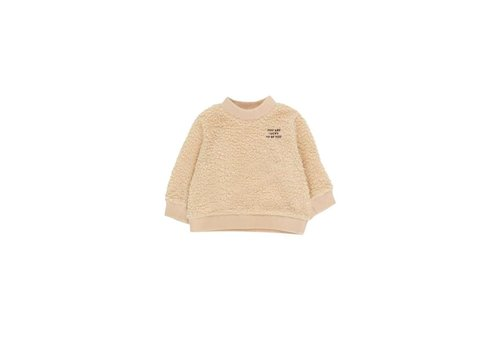 Tiny Cottons You Are Lucky Sweatshirt Sand/Aubergine