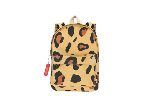 Tiny Cottons Animal Print Backpack Sand/Brown