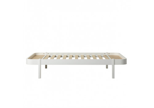 Oliver Furniture WOOD LOUNGER 120, WHITE