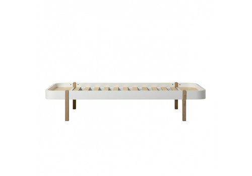 Oliver Furniture WOOD LOUNGER 90, WHITE/OAK