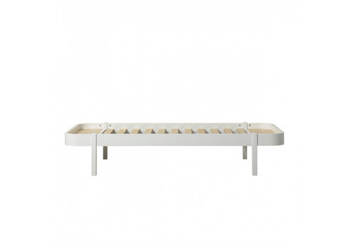 Oliver Furniture WOOD LOUNGER 90, WHITE