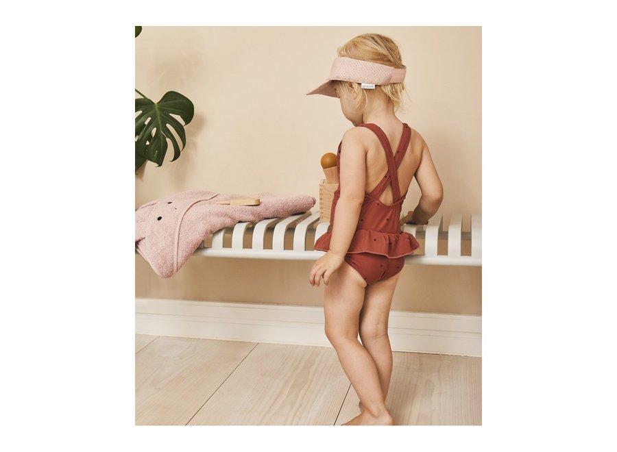 Amara swimsuit Classic dot rusty