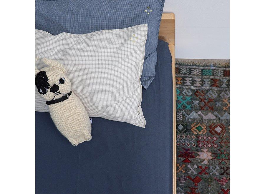 F/Sheet Organic Midnight COT W60cm x L120cm