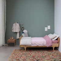 F/Sheet Organic Blush COT W60cm x L120cm