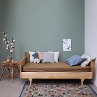 F/Sheet Organic Olive COT W60cm x L120cm