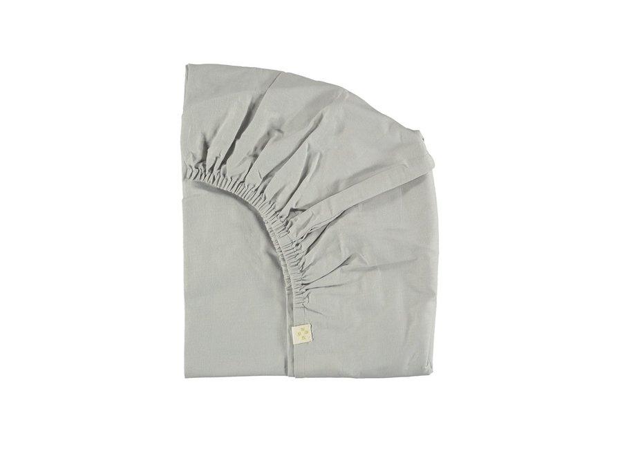 F/Sheet Feather Grey COT W60cm x L120