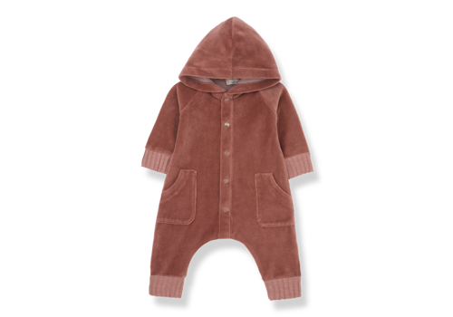1 + More in the Family Hooded Jumpsuit Argos Caldera