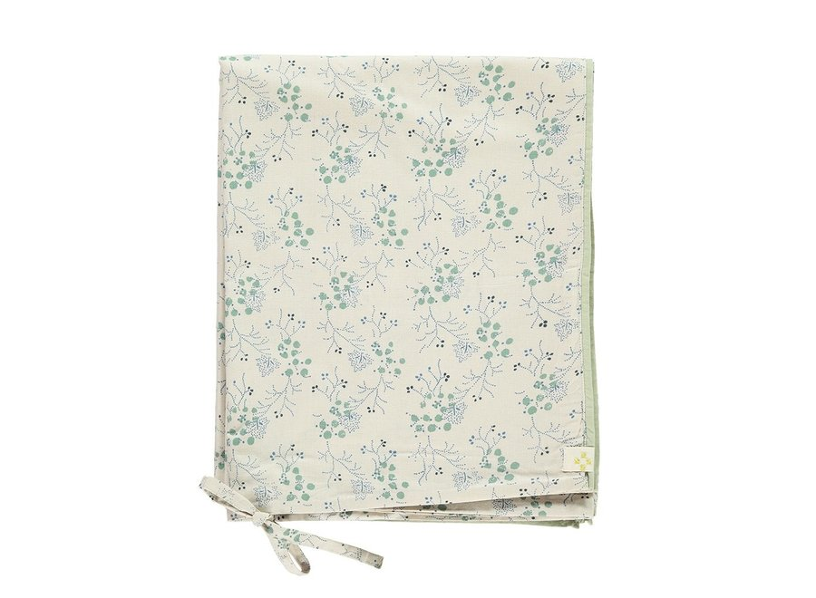 Duvet Cover Minako Floral Cornflower SINGLE W140cm x L200cm