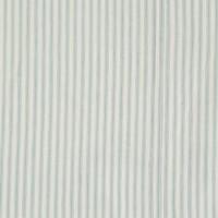 F/Sheet Ticking Stripe Marine Small Cot W60cm x L120cm