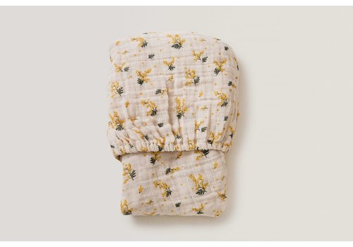 Garbo & Friends Mimosa Muslin Junior Fitted Sheet