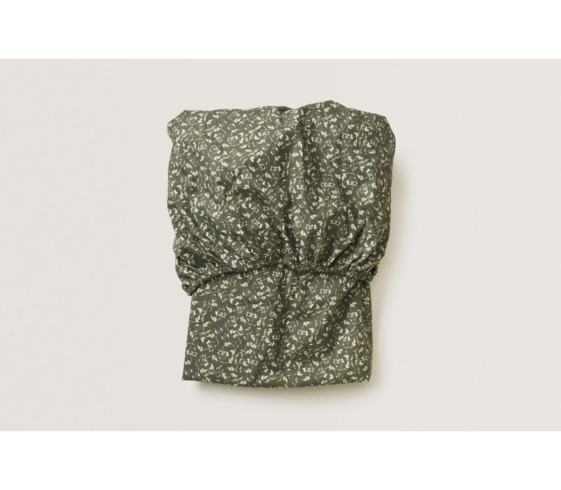 Floral Moss Junior Fitted Sheet