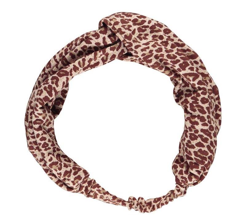 Leo Anika, Leopard, Wine Leo Hairband