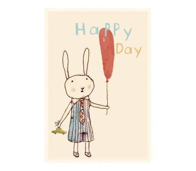 HAPPY DAY, BOY, SINGLE CARD