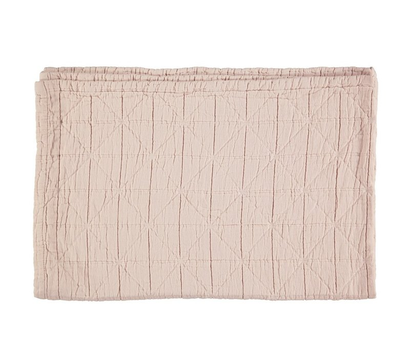 Diamond Blanket Pearl Pink Cot/Junior W120cm x L150cm