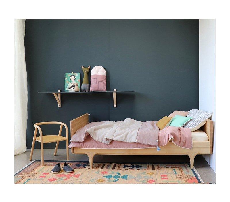 SMALL HOUSE Cushion Blush/Pearl Pink W24cm x H38cm