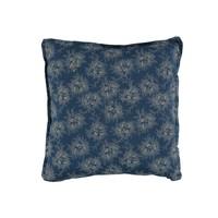 P/Cushion Spot Floral Indigo print Square W30cm x L30cm