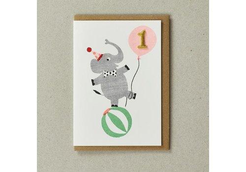 Confetti Pets Cards - Elly ( Age 1)