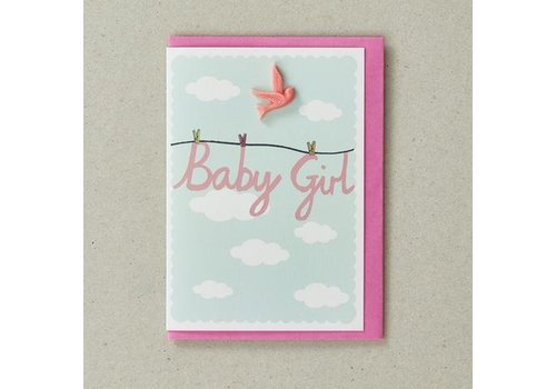 Resin Card - Baby Girl