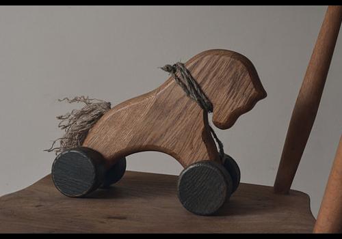 Zuri & Jane Wooden Horse Pull Along