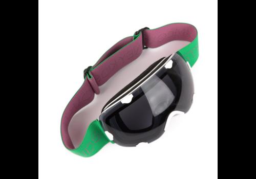 Stella McCartney Kids Ski goggles / sunglasses, green / white / purple