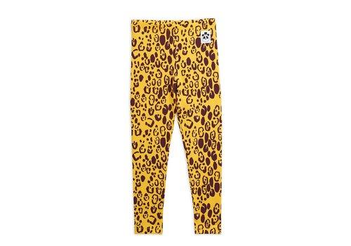 Mini Rodini Leopard leggings Yellow
