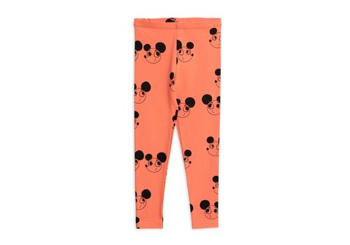 Mini Rodini Ritzratz aop leggings Red