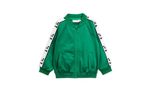Mini Rodini Panda wct jacket Green