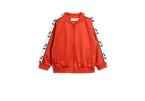 Mini Rodini Panda wct jacket Red