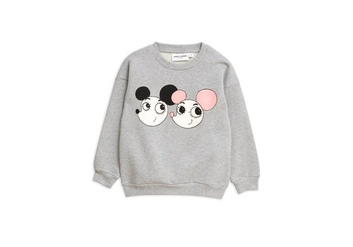 Mini Rodini Ritzratz sp sweatshirt Grey melange