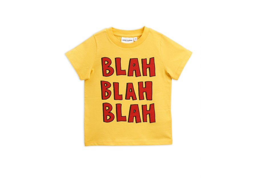 Blah sp ss tee Yellow