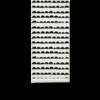 Ferm Living Half Moon Wallpaper Black