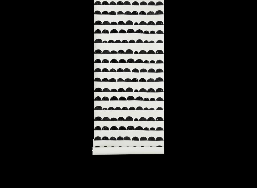 Half Moon Wallpaper Black