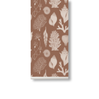 Katie Scott Wallpaper - Shells Toffee