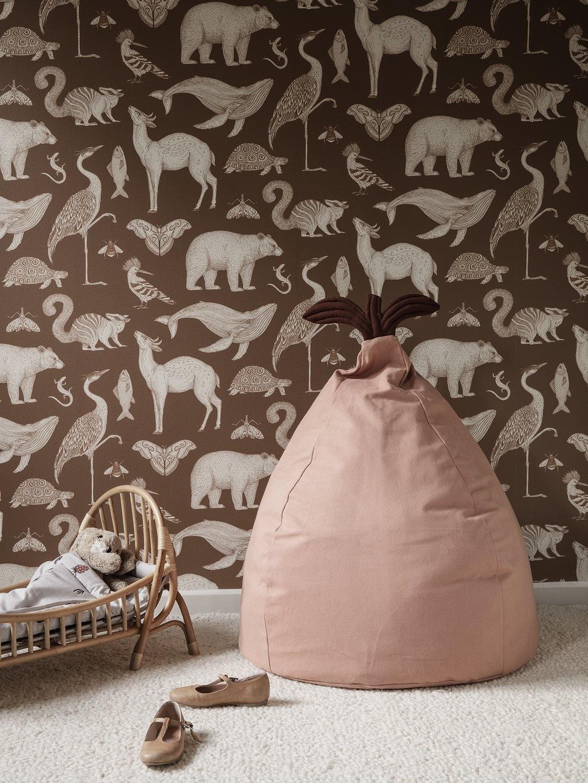 Ferm Living Katie Scott Wallpaper Animals