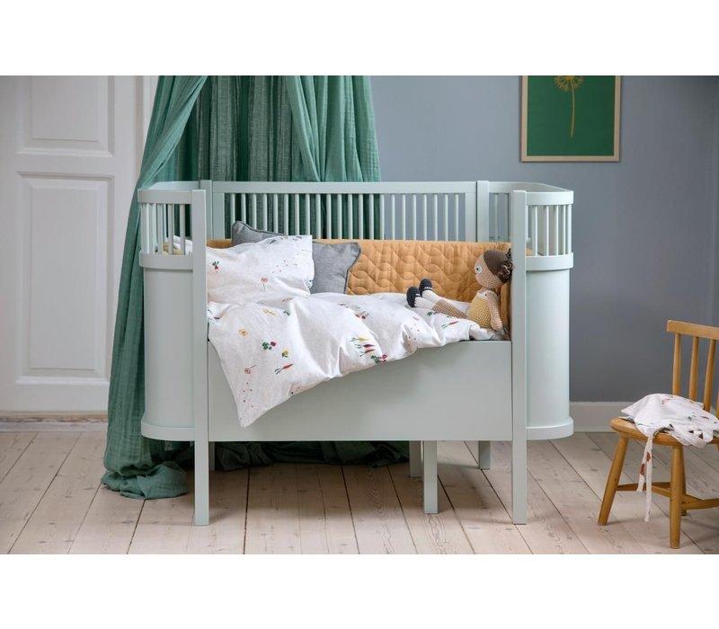 The Sebra Bed, Baby & Jr., mist green