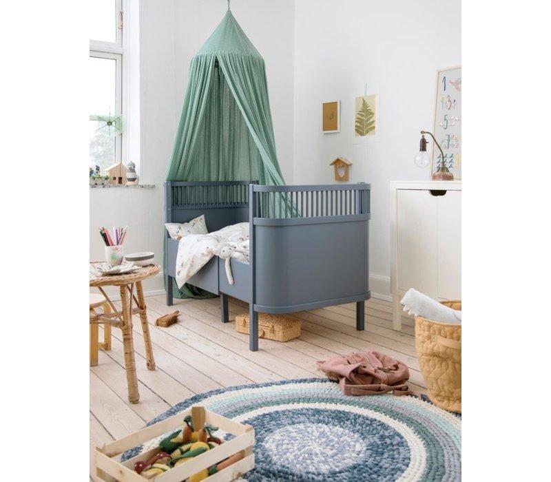 The Sebra Bed, Baby & Jr., forest lake blue