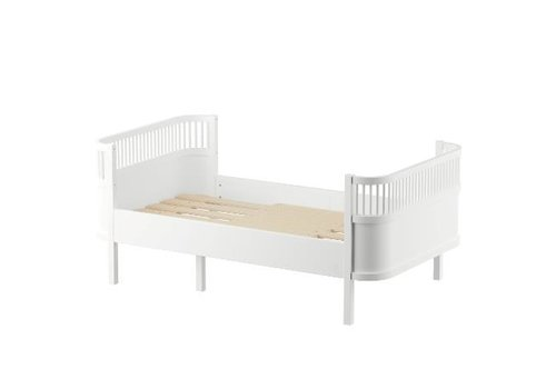 Sebra The Sebra Bed, Junior & Grow, classic white