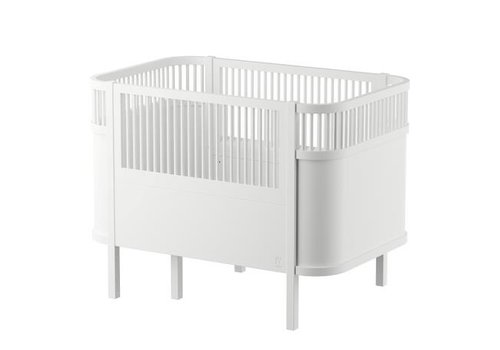 Sebra Sebra Baby en Junior meegroei bed - Wit