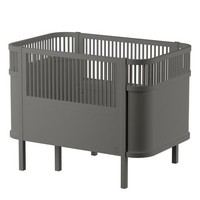 The Sebra Bed, Baby & Jr. dark grey