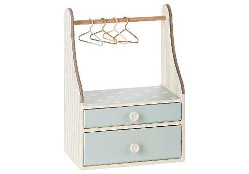 Maileg Wardrobe Dresser, Mint