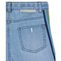 Multicol Tape Denim Trs Heavy Blue