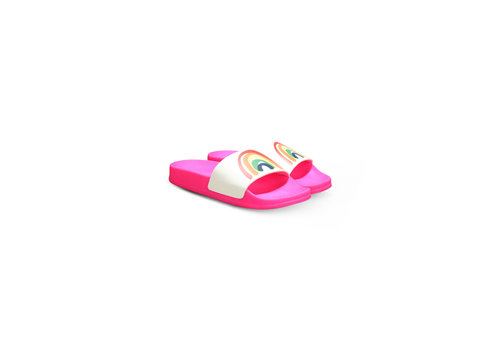 Stella McCartney Kids Slide Shoeswrainbow & Multic Sugar Pink