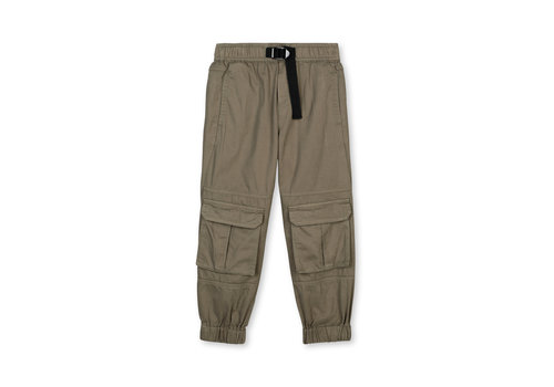Stella McCartney Kids Broken Twill Cargo Trs Dark Khaki