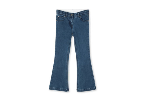Stella McCartney Kids Flare Denim Trs Bluestone