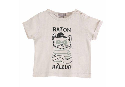 Emile et Ida Tee Shirt Mastic Raton