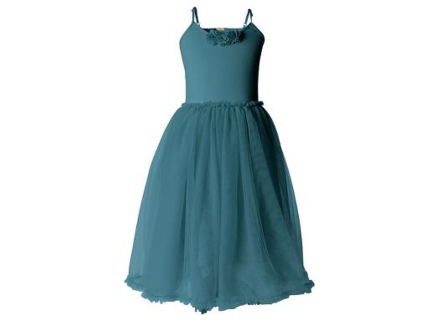 BALLERINA DRESS - PETROL