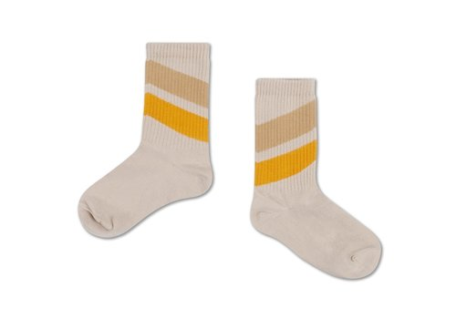Repose AMS Socks Sun Gold Sand Diagonal