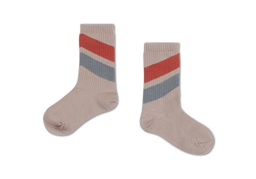Repose AMS Socks Red Dust Blue Diagonal
