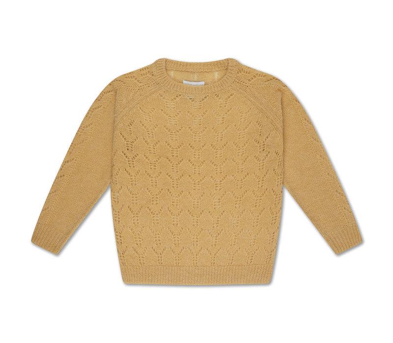 Knit Sweater Pale Yellow